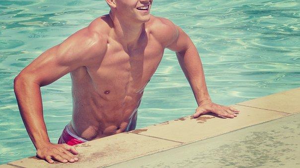 水泳の疲労回復ストレッチ