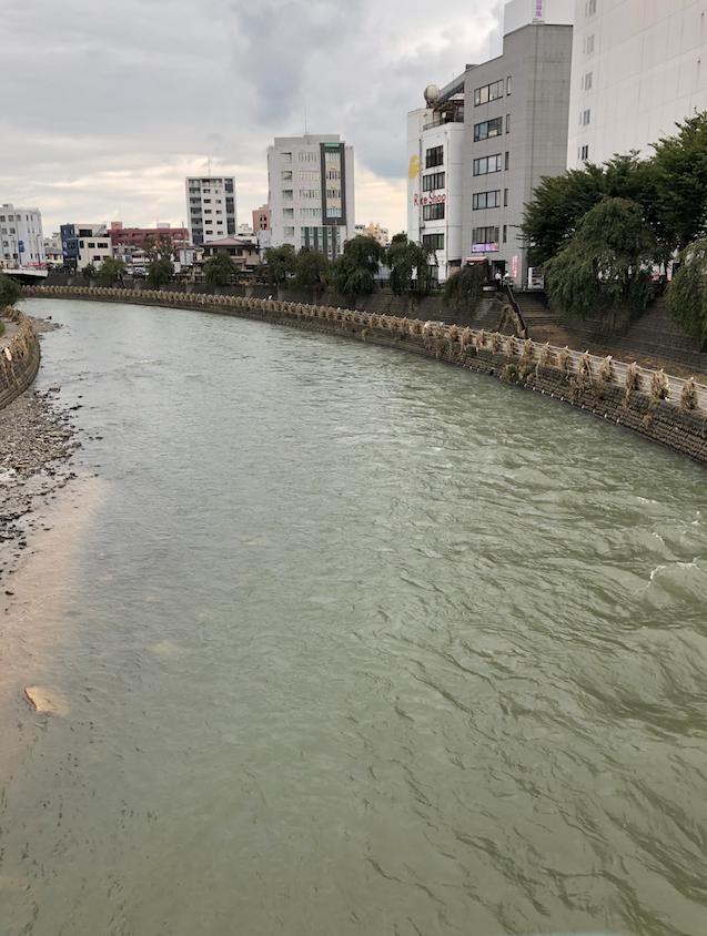 台風被害 宇都宮 田川