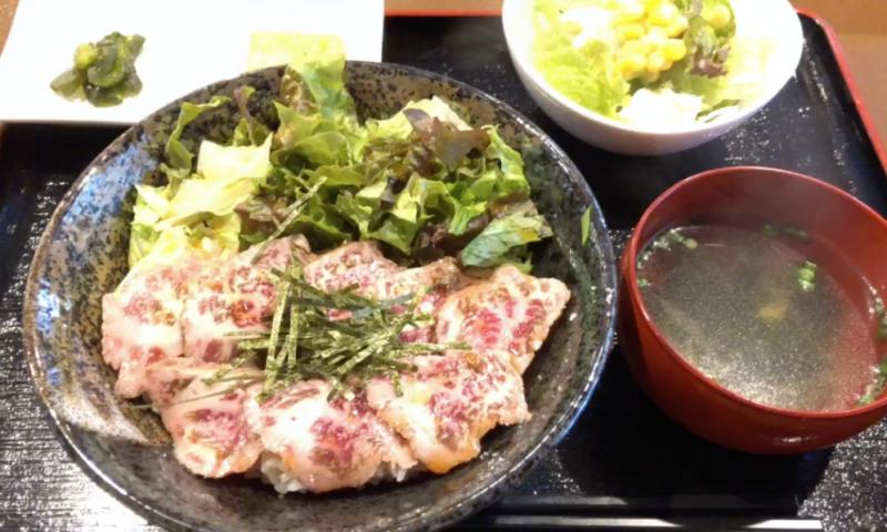 宇都宮 ランチ 牛たたき丼
