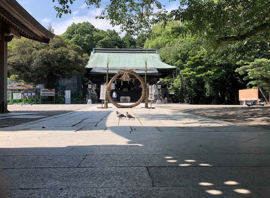 コロナ渦祓 宇都宮 二荒山神社
